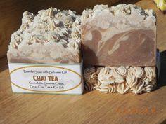 Chai Tea - A lovely Goats Milk Bastille Soap with Babassu Oil, Coconut Cream and Green Chai Tea $6.50