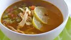SOPA DE LIMA | Chef Oropeza