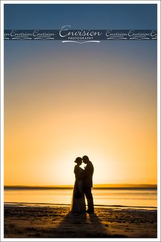 Jenny and Wade enjoying a moment post ceremony at Kingfisher Bay Resort's Sunset Beach. @kingfisherbay