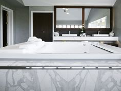 Defined by the detail, our luxury bathrooms are created using the finest materials and finishes. Designed to enhance your lifestyle and your home, your new bathroom will have all the features you've dreamed of. Bath Surround, Calacatta Marble, Marble Bath, Saint James, Windsor, Master Bathroom, Bathtub, Bathrooms, Luxury