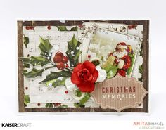 Christmas memories Card by Anita Bownds