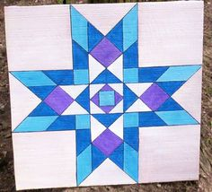 quilt patterns on barns Big Block Quilts, Blue Quilts, Star Quilts, Easy Quilts, Quilt Blocks, Vintage Quilts Patterns, Barn Quilt Patterns, Barn Quilt Designs, Quilting Designs