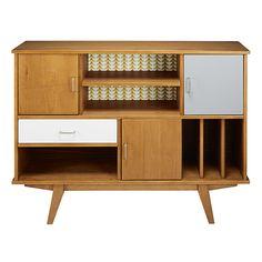 Biblioteca vintage a 3 ante ... - Paulette