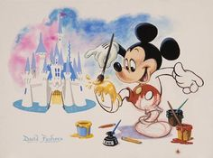 The Art of Disney Parks ~ Where Dreams Come True Event