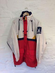 5552f9d676 Vintage Helly Hansen Twin Sails Cagoule Windbreaker Jacket Coat Small    Coats & Jackets   Men's Clothing