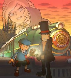 Professor Layton and the Diabolical Box is probably my favorite Professor Layton game... I don't know, I love them all!