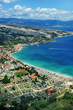 Baška, Krk island, Croatia. A pleasant climate with over 2 500 sunny days per year and lavish vegetation with an abundance of entertainment and sports programs make Baška an excellent destination for your holiday on the island of Krk.