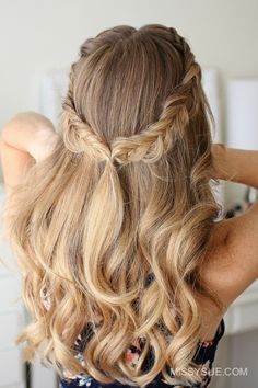 36 Best Brautfrisuren Offene Haare Halb Hochgesteckt Images