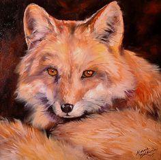 """Fox"" par Marcia Baldwin"
