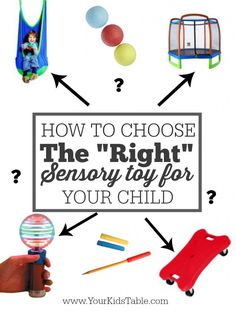 Want to get your kid a sensory toy? The choices can be overwhelming, you'll want to read these 5 steps to make sure you choose something that will make a difference in your child's life.