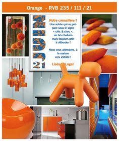 Orange decor inspiration