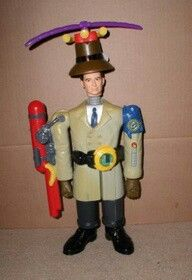 90's McDonald's toy inspector Gadget - this is only thing I kept from Fast Food toy collection, I want to start it up again  and get the toys that I lost ; ( - Rob D.