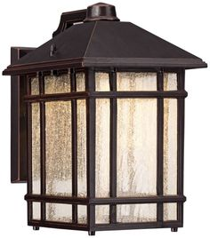Jardin du Jour Sierra Craftsman 11-Inch-H Outdoor Wall Light - (maybe this is the right size?)
