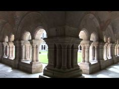 Take a tour of peaceful Fontenay Abbey in France YouTube