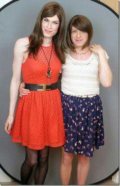 Layla and Caroline
