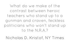 What do we make of the contrast between heroic teachers...
