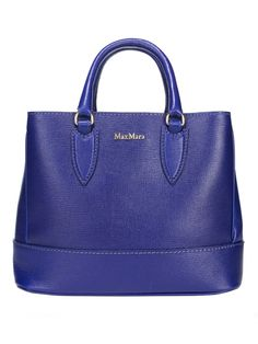 Max Mara leather Indigo bag first seen in Milan, Italy... love at first sight!