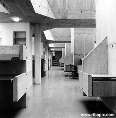 Berkley library inside Ahrens Burton Koralek
