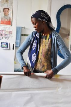 To launch our annual Creative Women series celebrating Women's Month, we visited artist Billie Zangewa's home studio to see first-hand the process behind her intricate silk tapestries. African Style, African Fashion, Faith Ringgold, Sheila Hicks, Tracey Emin, Textile Sculpture, African Artists, Textiles, Feminist Art