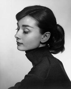 Yousuf Karsh, Audrey Hepburn, 1956, gelatin silver print © Estate of Yousuf Karsh