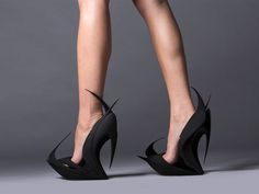 """ZAHA Hadid x United Nude """"Reinvents"""" Shoes With Architectural 3D-Printed Footwear"""