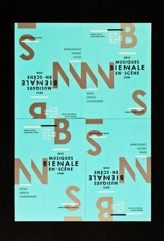 ©les graphiquants - Biennale Musiques en scène - 2012 - #graphic #design #music…