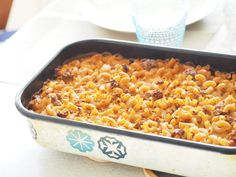 Makaroonilaatikko Koskenlaskija juustolla Portobello, Risotto, Macaroni And Cheese, Food And Drink, Cooking Recipes, Yummy Food, Pasta, Vegetables, Ethnic Recipes