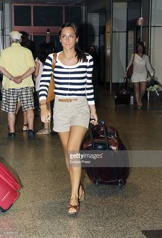 Tamara Falco sighting in Barajas airport on July 2011 in Madrid,. Airport Style, Vacation Trips, Preppy, Fashion Beauty, 18th, Casual, Summer, Outfits, Travel