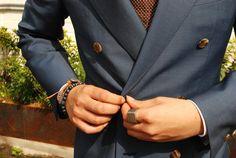 Fancy - Blue Double Breasted Blazer
