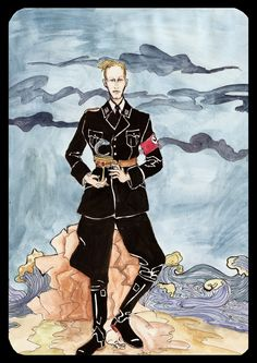 Page of Cups - Heydrich Tarot  by Hello Heydi