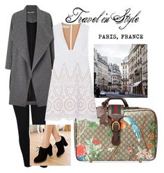 """Travel in style"" by reynanciamutya on Polyvore featuring Gucci, M&Co, Miss Selfridge, STELLA McCARTNEY and Pangmama"