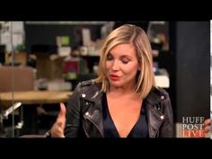 June Diane Raphael, Business Professional Outfits, New Hair, Haircuts, Hair Ideas, Leather Jacket, Fashion, Studded Leather Jacket, Moda