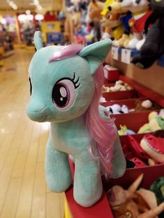 Build-a-Bear Minty Plush Available on October 27th Don't know who she is but super cute <3