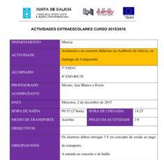 CORES DE CAMBADOS: ACTIVIDADES MUSICAIS NO I.E.S. ASOREY