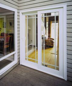 Attractive 8u0027 Sliding Glass Patio Doors | Vinyl Sliding French Rail Patio Door