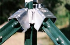 Proving itself for over 20 years throughout North America & Europe, WEDGE-LOC® Bracing Hardware for T-posts is the most convenient, dependable, & exciting fencing system on the market. Horse Fencing, Garden Fencing, Garden Tools, Privacy Panels, Privacy Fences, Pallet Fence, Farm Fence, T Post Fence, Cattle Corrals