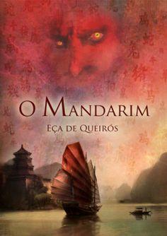 """Capa do livro """"O Mandarim"""" de Eça de Queirós."""