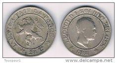 Belgium - 20 centimes - Léopold Ier cupronickel 1861  - good quality
