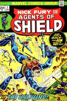 Nick Fury and the Agents of SHIELD #1 - Steranko