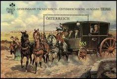 Austria military mail coach