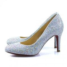 Cheap Christian Louboutin Crystal Covered Round-Toe Pumps Sale : Christian Louboutin$194.02