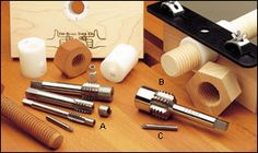 Beall's Wood Tapping & Threading Kits - Woodworking
