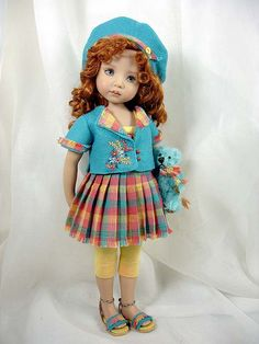 Dress Ups by PJ ... Summer. . .or FALL? - for Effner Little Darlings | Flickr - Photo Sharing!