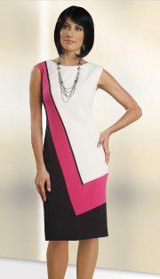 Color Block Dress in Size 18 Only! US$77 http://dressesandsuitswearhouse.com/