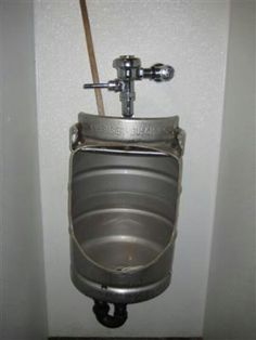 Keg turned urinal