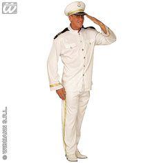 Disfraz de Capitan de Marina #disfraces