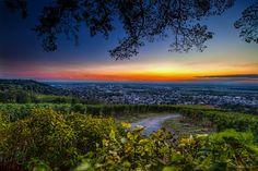 Sunset over Bensheim
