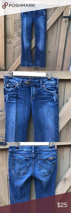 Size 27 Tina Silver boot cut jeans Size 27 Tina Silver boot cut jeans: 33 in inseam Silver Jeans Jeans Boot Cut