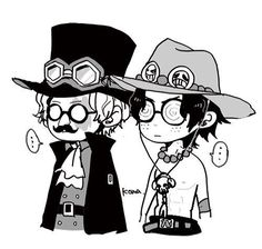 Portgas D. Ace and Sabo