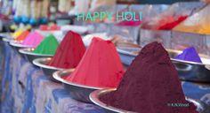 Holi! The festival of colors!